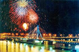Đà Nẵng - lễ hội bắn pháo hoa quốc te...