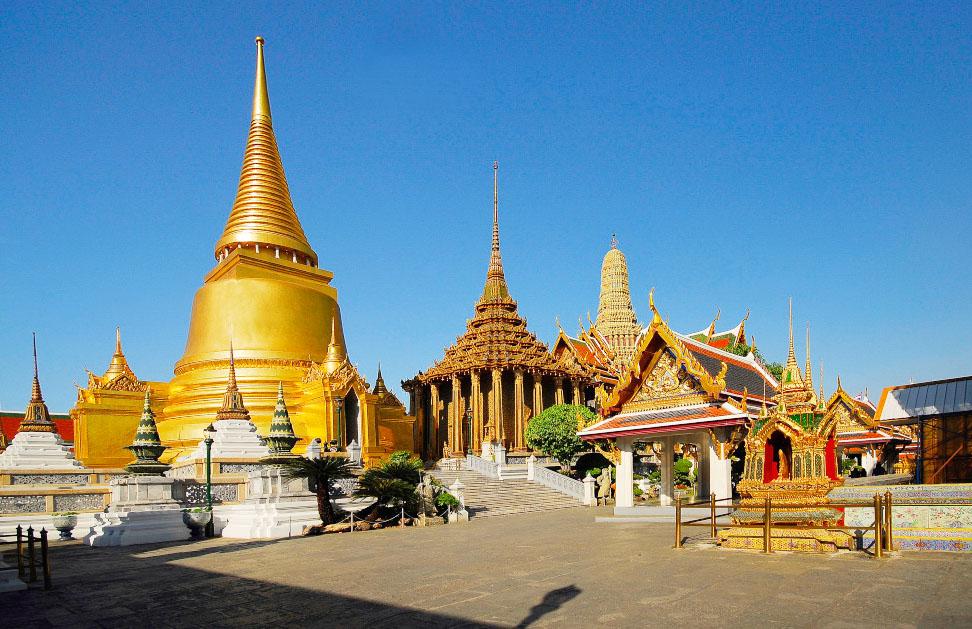 Thái Lan : Vương Quốc Chùa phật vàng